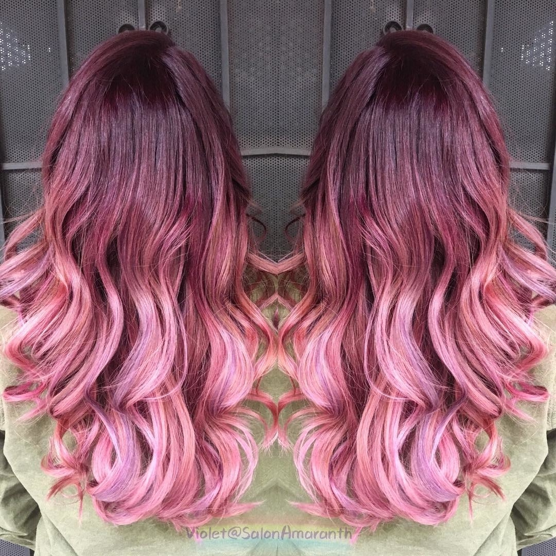 50 Rose Gold Balayage Color Ideas Latest Hair Colors