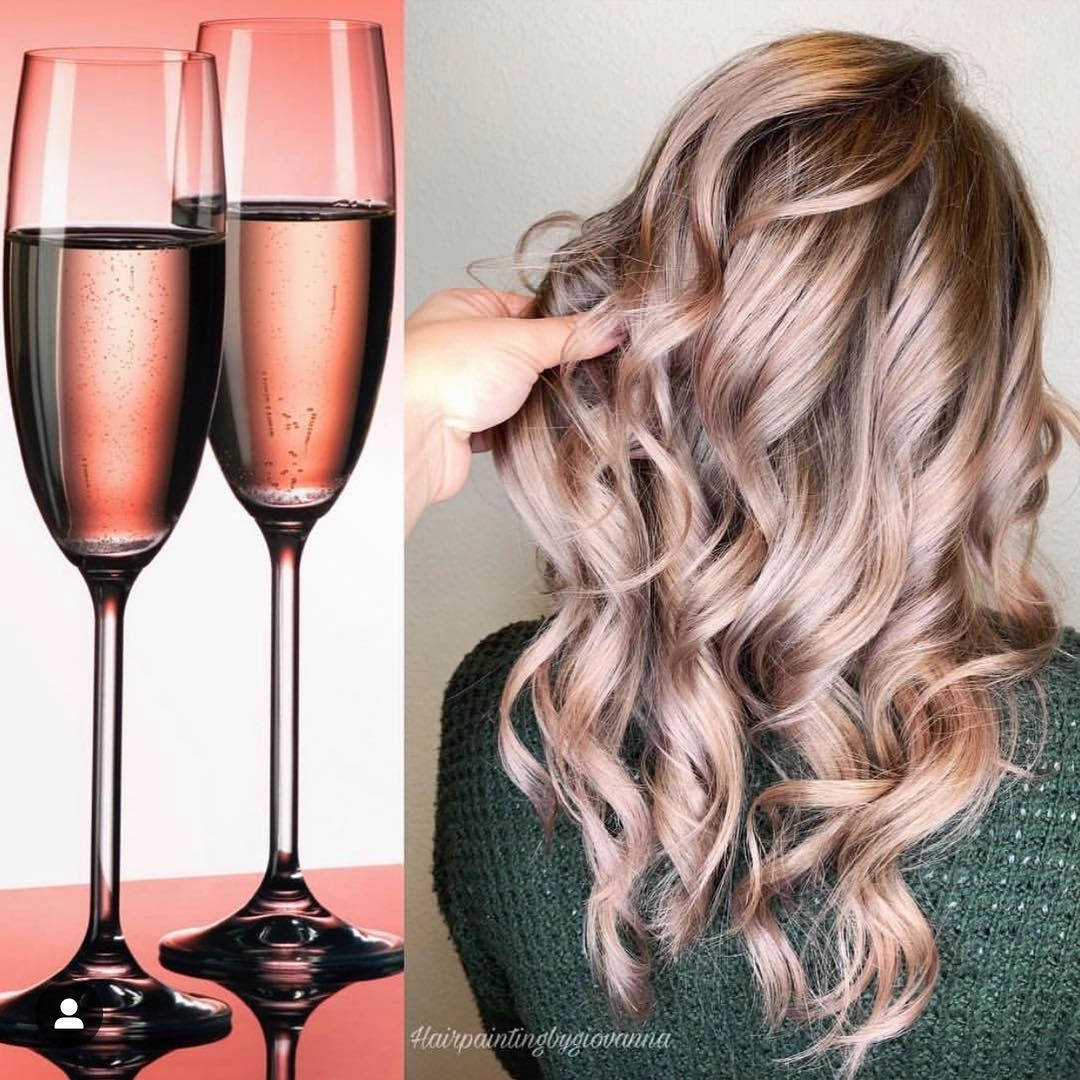 50 Rose Gold Balayage Color Ideas , Latest Hair Colors