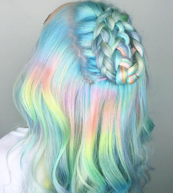 50 Pastel Hair Color Ideas 2019.