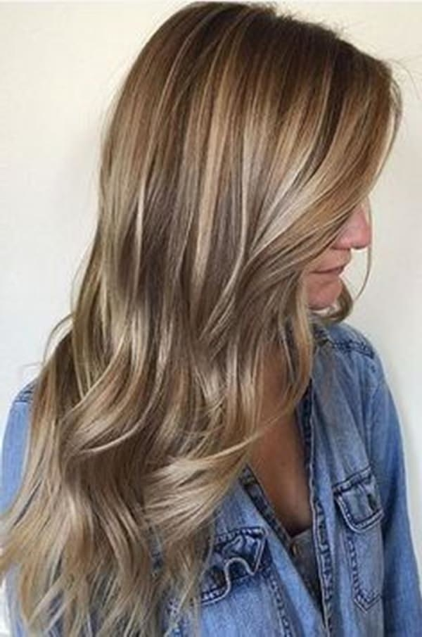 20 Dark Blonde Balayage Hair Color Ideas To Try in 2019