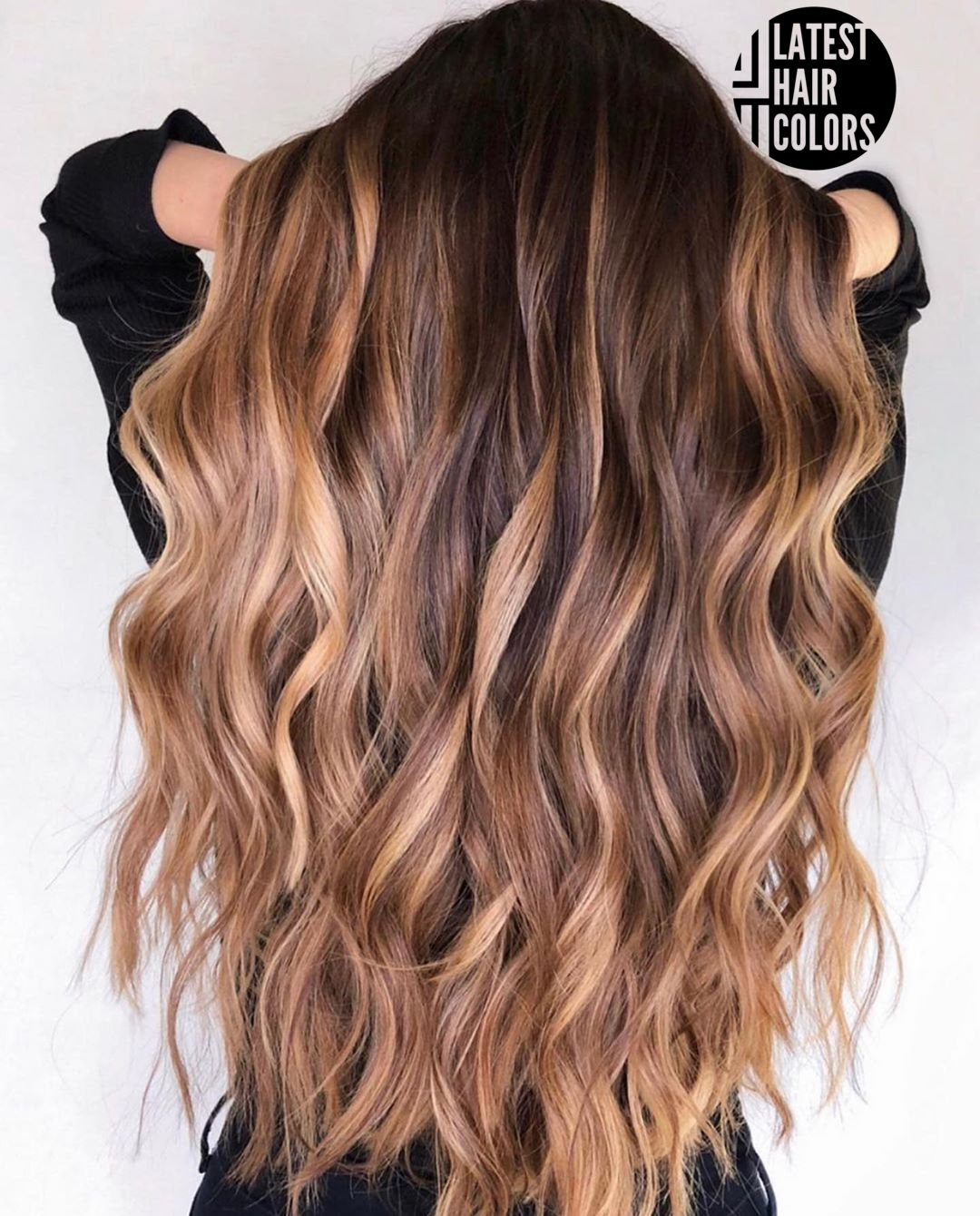 balayage hair color for brown skin