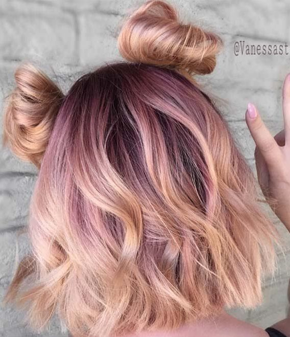 27 Rose Gold Hair Color Ideas That Make You Say Wow Latest Hair