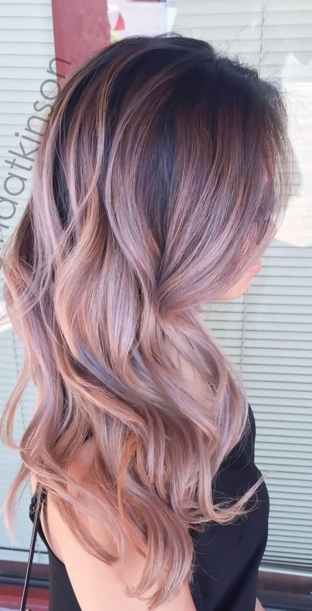 """Hair Color Ideas 2020 Ash 27 Rose Gold Hair Color Ideas That Make You Say """"Wow!""""   Latest"""