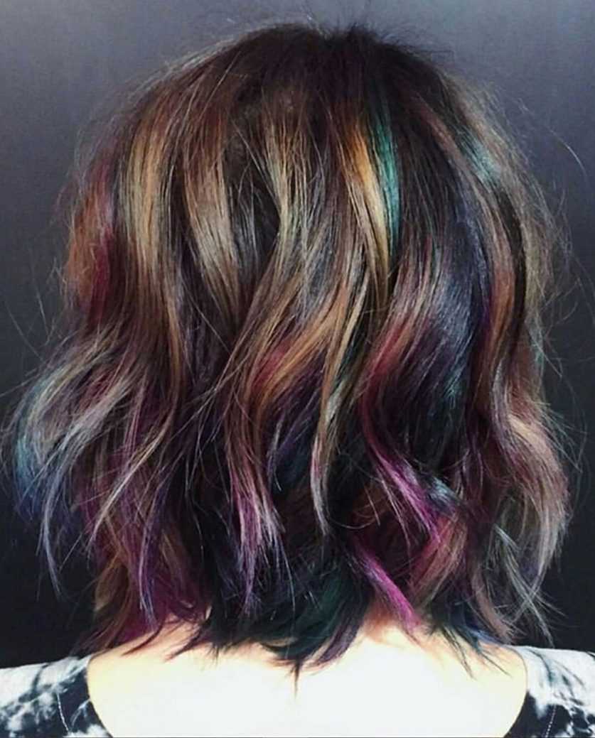 28 Crazy Fun Hair Color Ideas For Brunettes That Really Rock Your Hair Latest Hair Colors