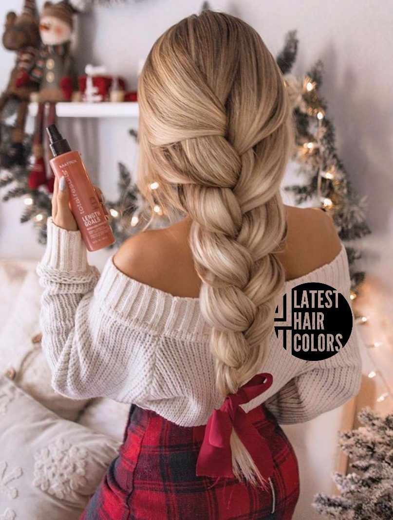 blonde fishtail braids hairstyles 2020