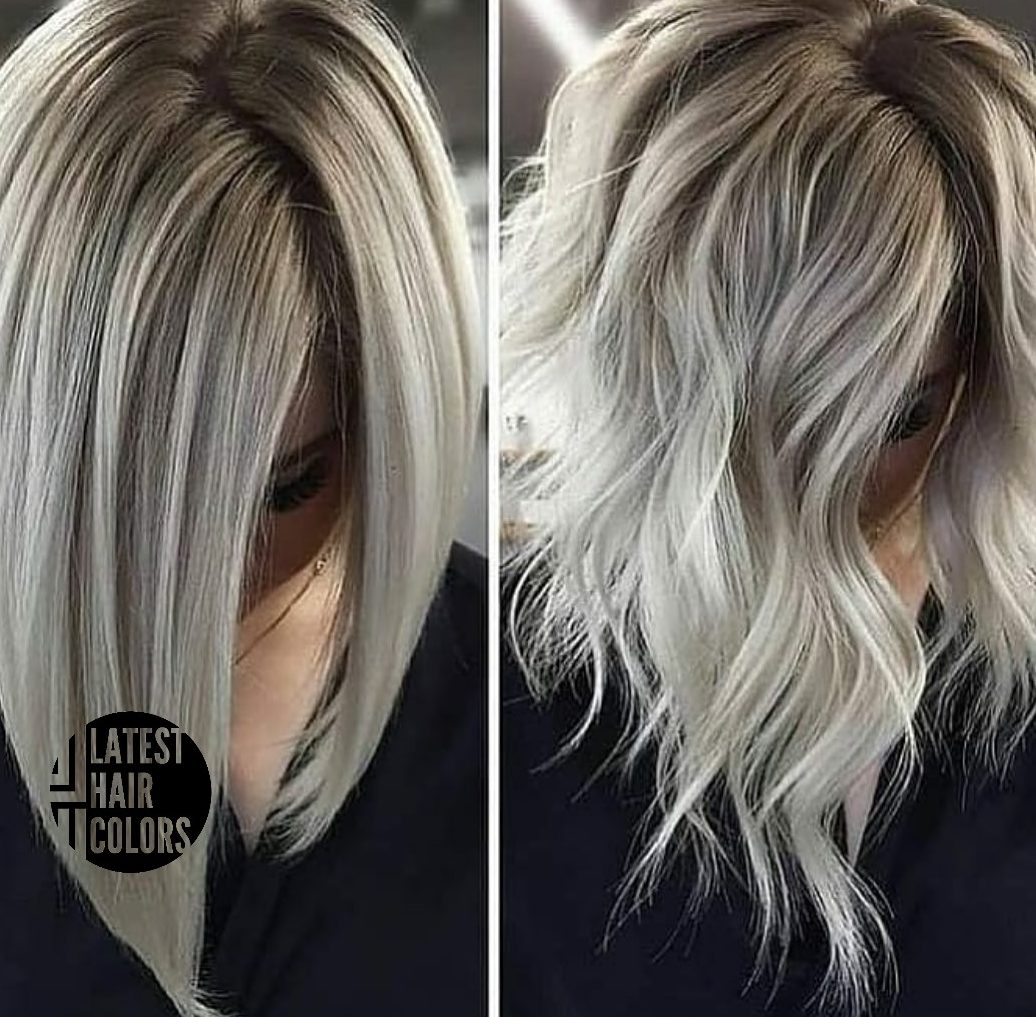 platinum blonde hair color 2020