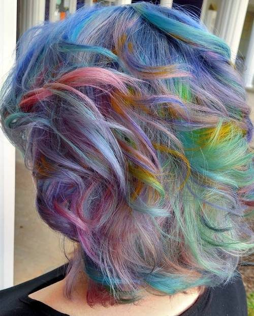 Multi-Colored Pastel Hair