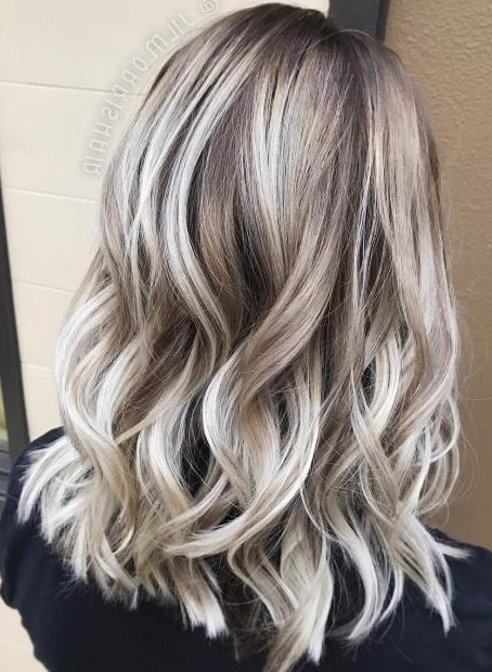 Bronde Hair With Platinum Highlights