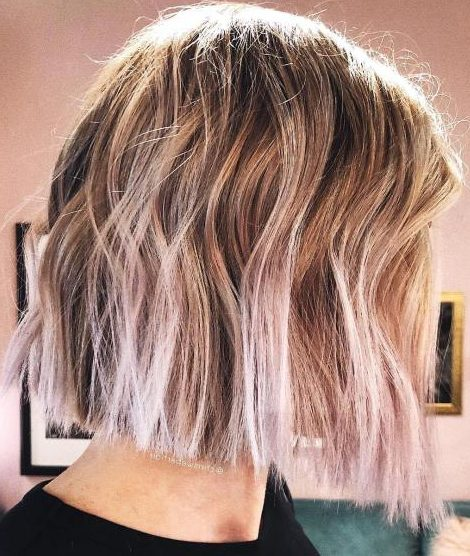 Blunt Bob with Natural Root Blend